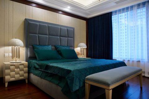 卧室窗台新中式风格装饰图片
