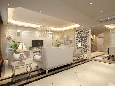 龙庭280平欧式风格别墅装修效果图