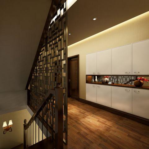 玄关隔断新中式风格装修设计图片