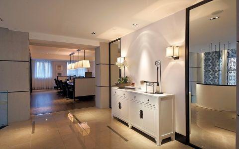 玄关橱柜新中式风格装饰效果图