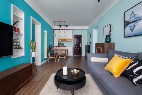 威尼斯水城105平北欧风格三居室装修效果图