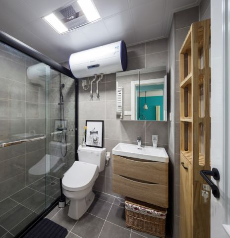 卫生间细节北欧风格装饰效果图