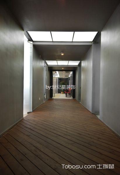 工装未来现代城办公室外景走廊装修图片