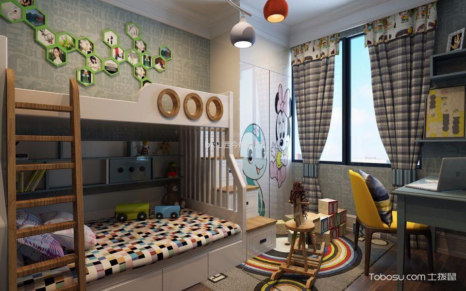 海唐广场106平现代简约大户型家装效果图