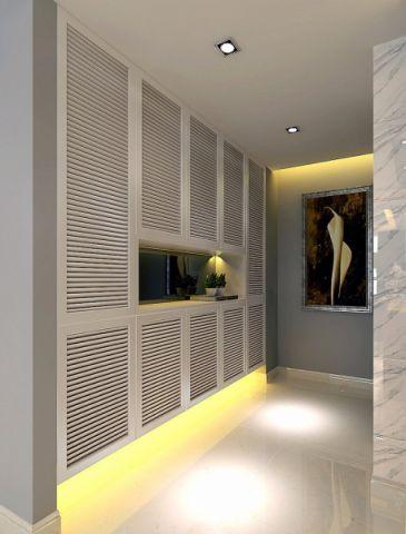 玄关门厅现代简约风格装修效果图