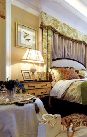 卧室博古架欧式风格装饰图片