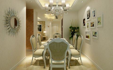 餐厅照片墙欧式风格装饰设计图片