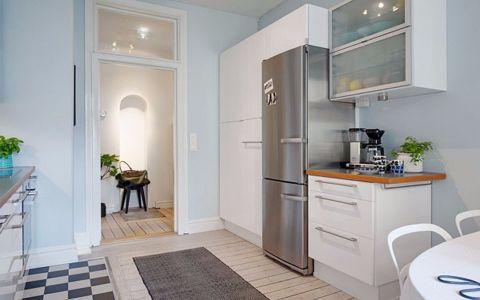 厨房吧台北欧风格装潢效果图