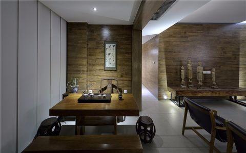 餐厅餐桌现代中式风格效果图