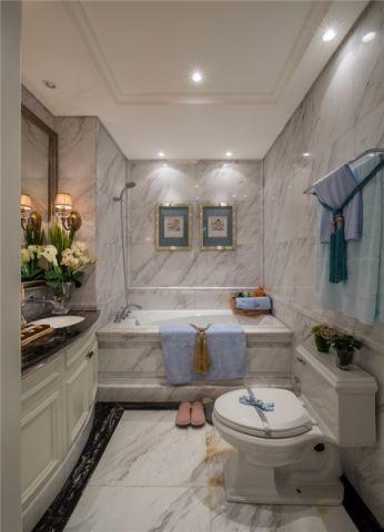 卫生间细节法式风格装饰效果图
