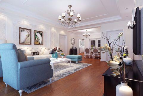 客厅白色吊顶装修设计
