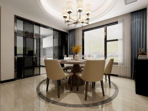 新城香悦澜山110平现代简约风格三居室装修效果图