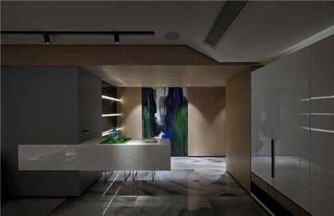 书房门厅现代简约风格装饰设计图片