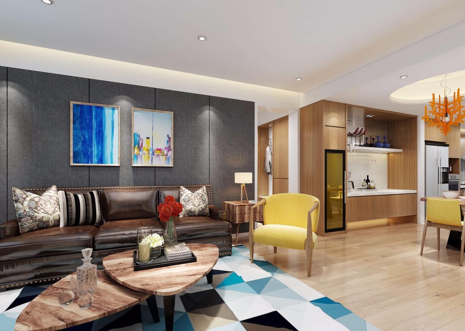 2室1卫2厅160平米中式风格