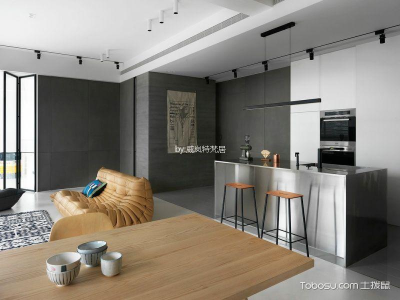 餐厅灰色细节现代风格装潢设计图片