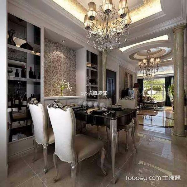 厨房咖啡色细节欧式风格装饰设计图片