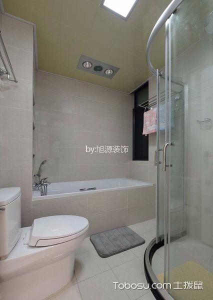 卫生间米色细节现代风格装饰设计图片
