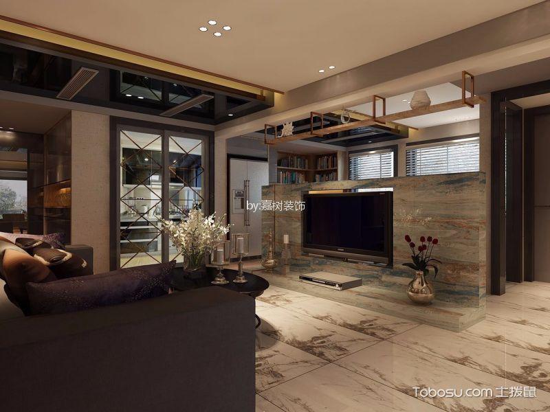 客厅咖啡色细节现代风格装饰效果图