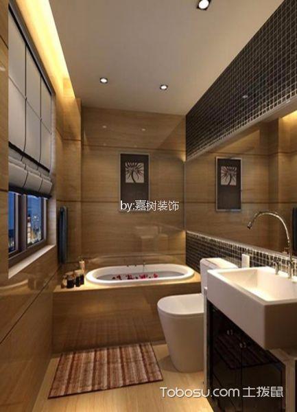 卫生间黄色细节现代风格装潢效果图