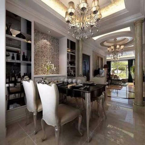 厨房细节欧式风格装饰设计图片