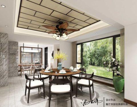 餐厅吊顶东南亚风格装饰效果图