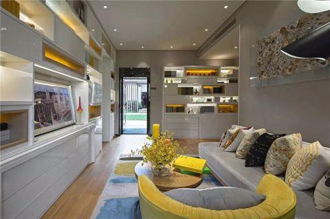 怡景公寓60平现代风格一居室装修效果图