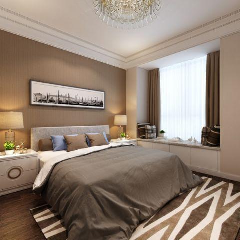 卧室飘窗现代简约风格装修图片