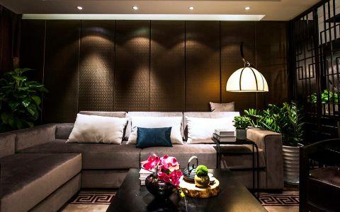 金新鼎邦新中式风格三居室装修效果图