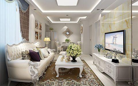 2020简欧70平米装修效果图大全 2020简欧二居室装修设计