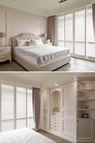 卧室飘窗田园风格装修效果图