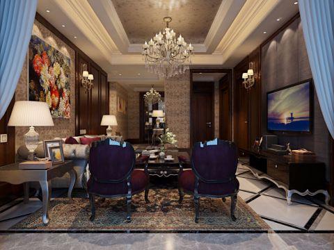客厅细节新古典风格装修设计图片