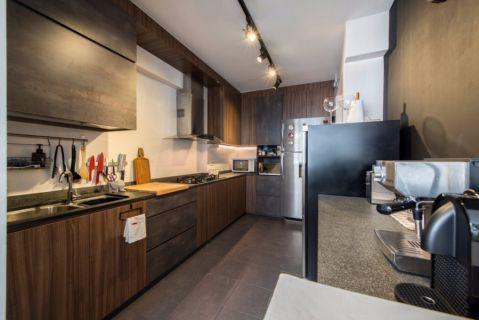 厨房橱柜后现代风格装饰图片
