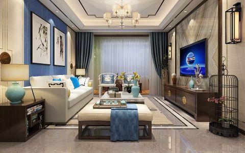 锦苑143平米新中式风格四居室装修效果图