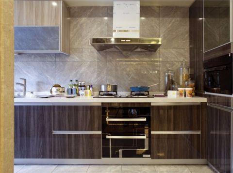 厨房背景墙新中式风格装修效果图