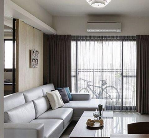 泰业国际110平北欧风三居室装修效果图