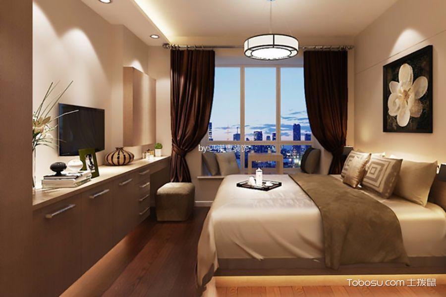 卧室米色细节现代风格装修效果图