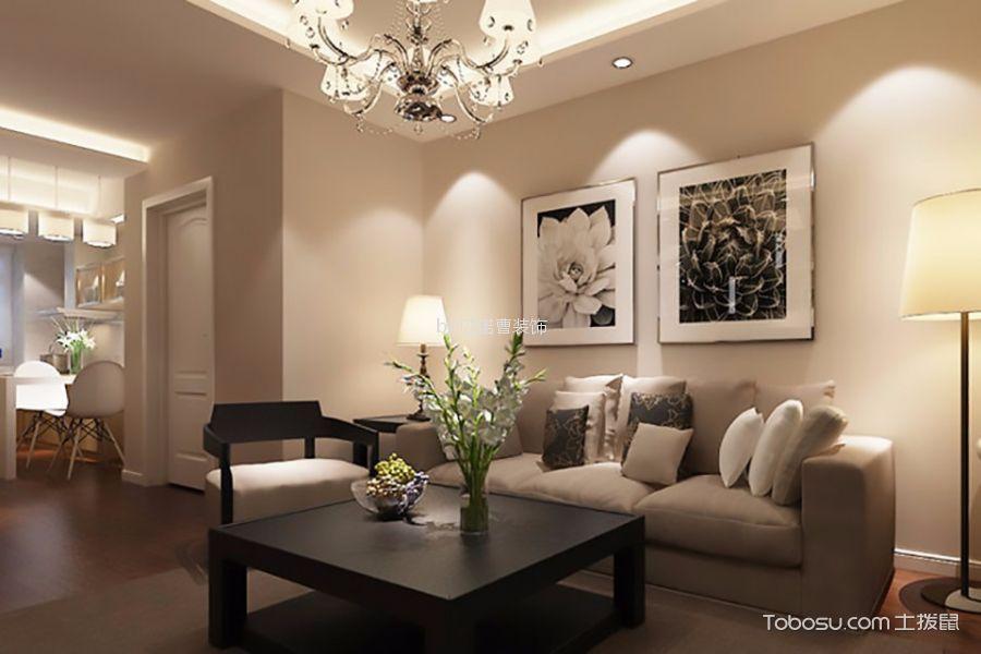 客厅米色细节现代风格装饰图片