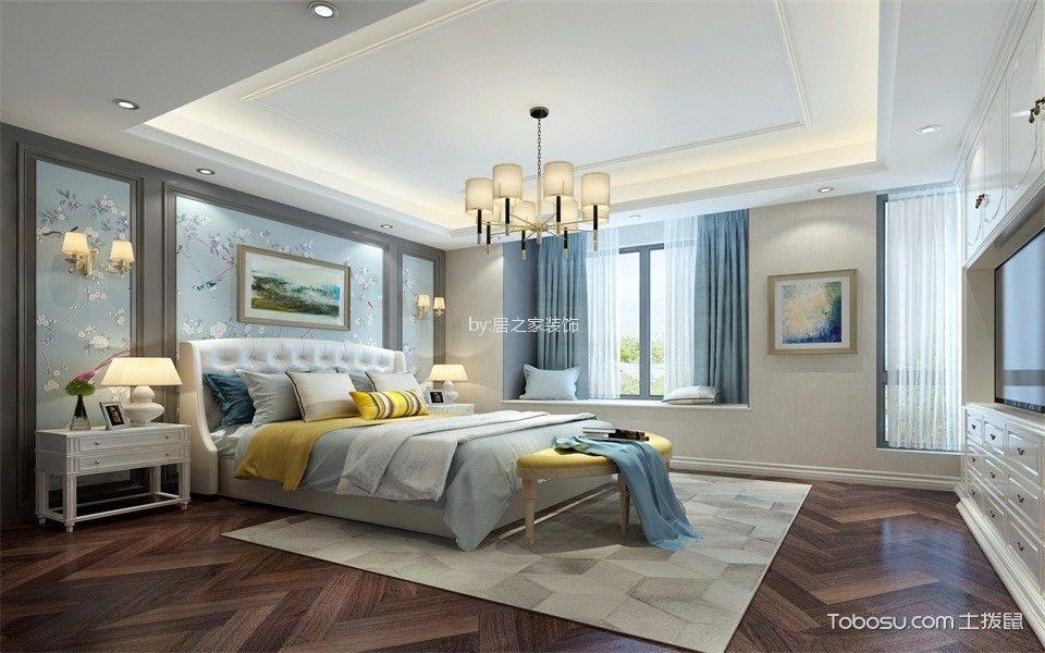 雅居乐130㎡简欧3室2厅2卫装修效果图