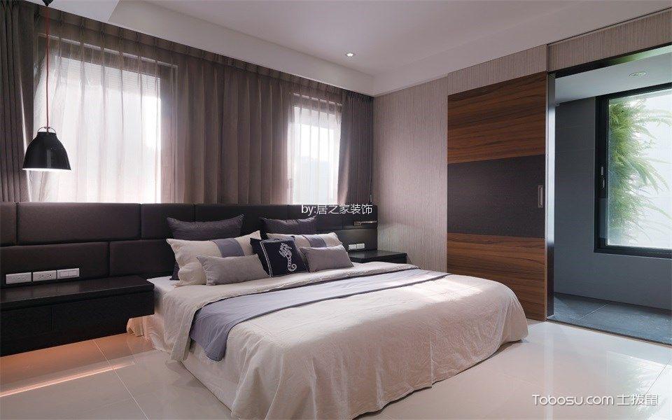 卧室咖啡色细节现代风格装修图片