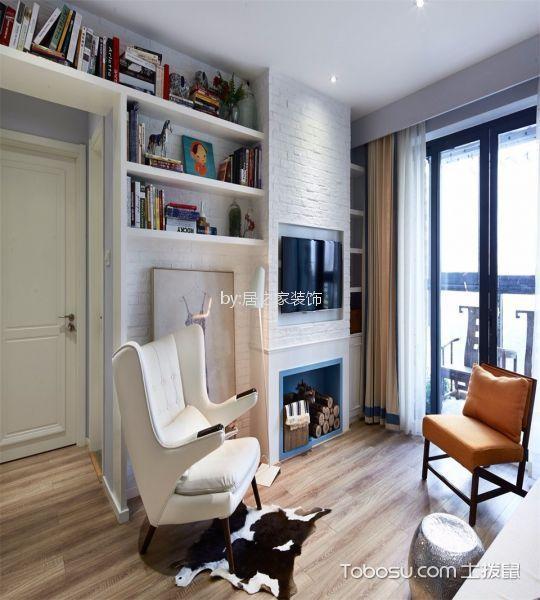 客厅灰色细节混搭风格装饰图片