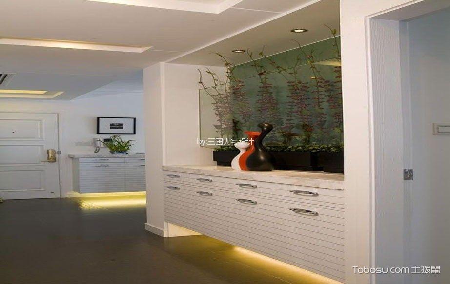 嘉兴百合春天120平米现代风格套房装修效果图