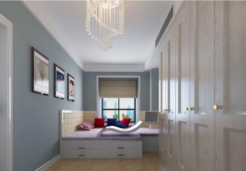 卧室照片墙田园风格装修图片