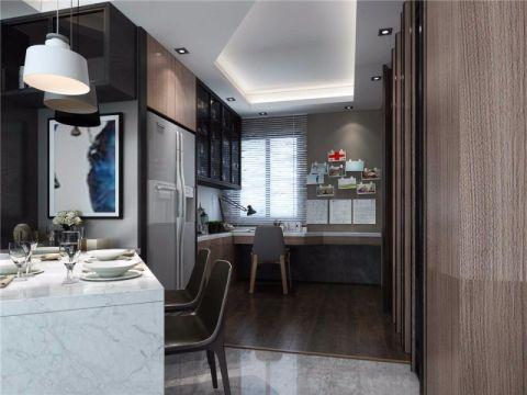 餐厅橱柜现代简约风格装饰设计图片