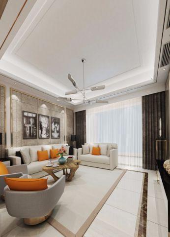 客厅背景墙现代风格装饰图片