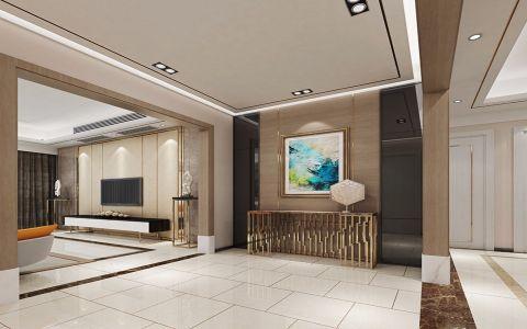 180平方现代港式风格四居室装修效果图