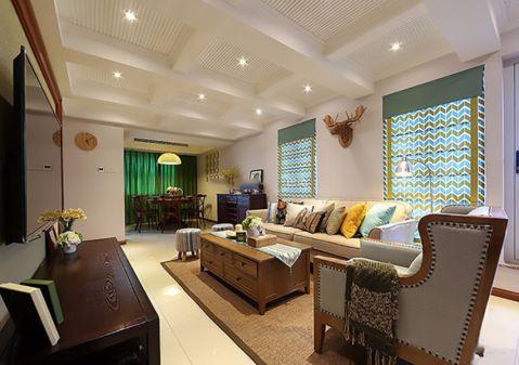 简约风格180平米复式新房装修效果图