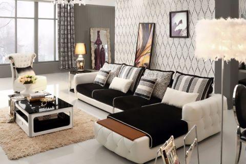 客厅榻榻米欧式风格装修效果图