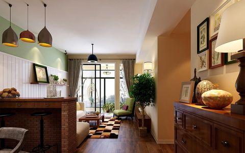 融科九重锦89平米简约美式三居室装修效果图