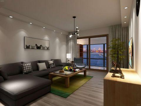 2020简约90平米效果图 2020简约套房设计图片