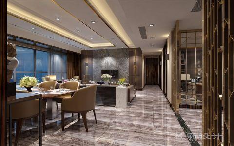 金棕榈港式180平五室一厅两卫装修效果图